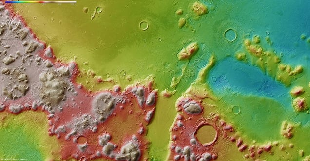 Scientists Discover Huge Martian Water Deposit—Could Be Used By Human Explorers