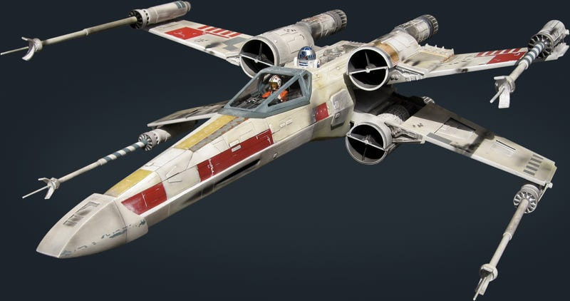 X-Wing Red Five Is Most Detailed Model Ever