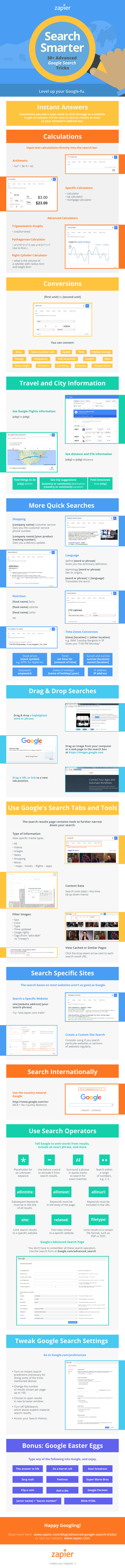 This Infographic Crams In Over 30 Essential Google Search Tips