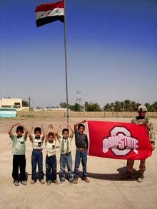 Spreading The Buckeye Love In Iraq