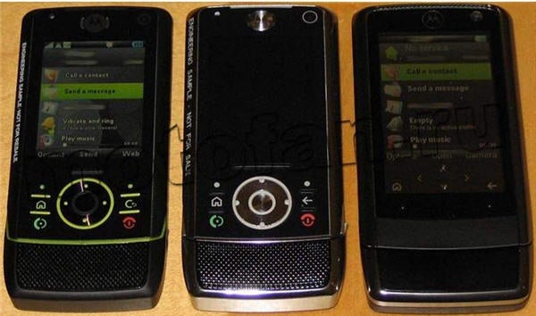Motorola ZiNe Z12 Leaked Pictures?