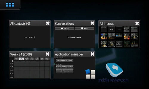 More Nokia RX-5/N900 Tablet Details, First Maemo 5 Screens Emerge