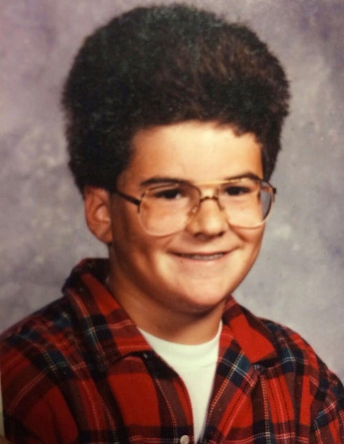 Darren Rovell's Seventh-Grade Class Photo Is Exactly What You'd Expect