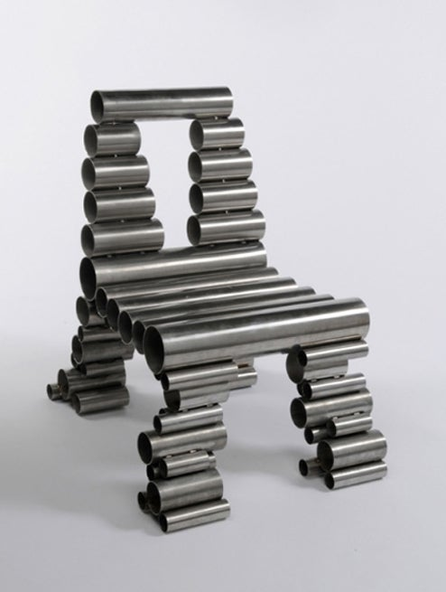 British Designer Makes Insane Looking Chairs Out of Hard-To-Recycle Trash