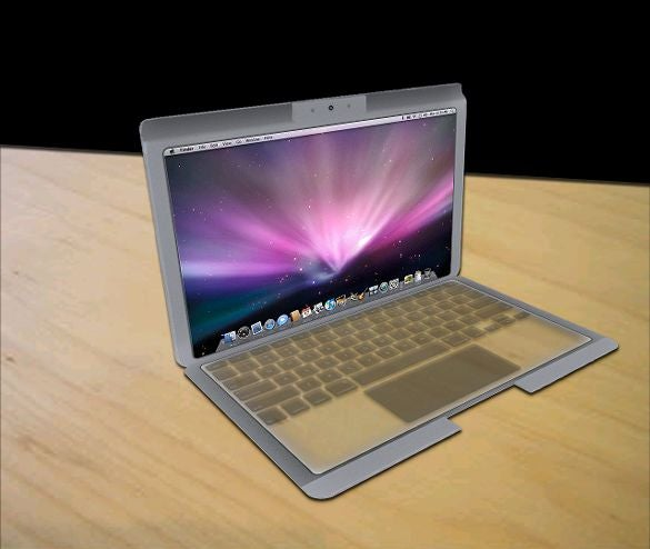 MacBook Touch Concept Based on Apple's Latest Transparent Displays Patent