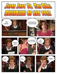 Comic Confrontations: Judge Judy Vs. The Real Housewives Of New York