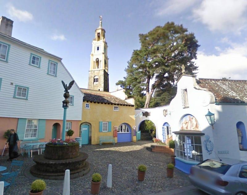 Visit The Village from The Prisoner on Google Maps