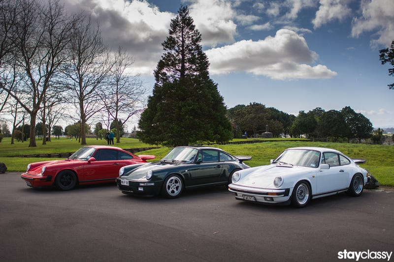 An Afternoon With Three '80s 911s