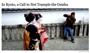 Geishas In Kyoto Sick Of Tourist Attention • Pakistan Launches Investigation Into Taliban Flogging Of Young Girl