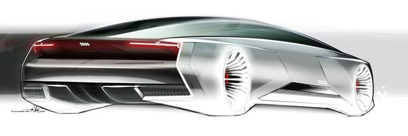 Audi designed this badass concept car for Ender's Game