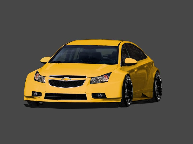 Production fender-flared Chevy Cruze?