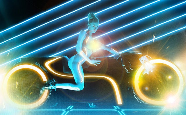 Playboy Sexes Up Tron Legacy