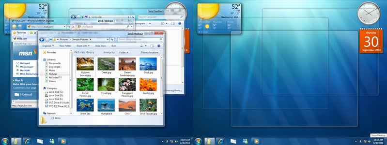 Windows 7 Walkthrough, Boot Video and Impressions