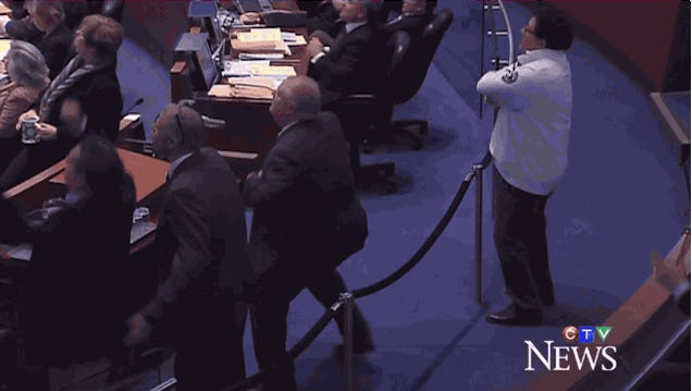 Rob Ford Gets Air