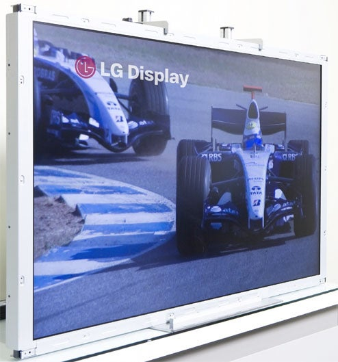 LG to Show Off 480Hz Trumotion Display at CES