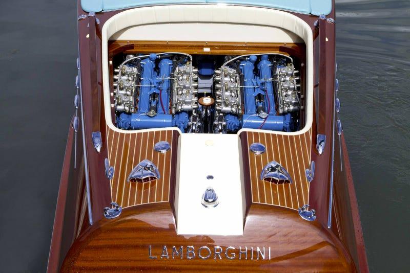 Ferruccio Lamborghini's Legendary Unique Riva Aquarama Lamborghini Has Been Restored