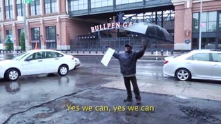 In The Shadow Of Mets Stadium, Mechanics Hunger Strike Against Eviction