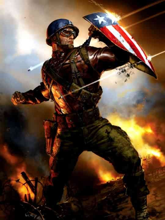 Captain America Concept Art!