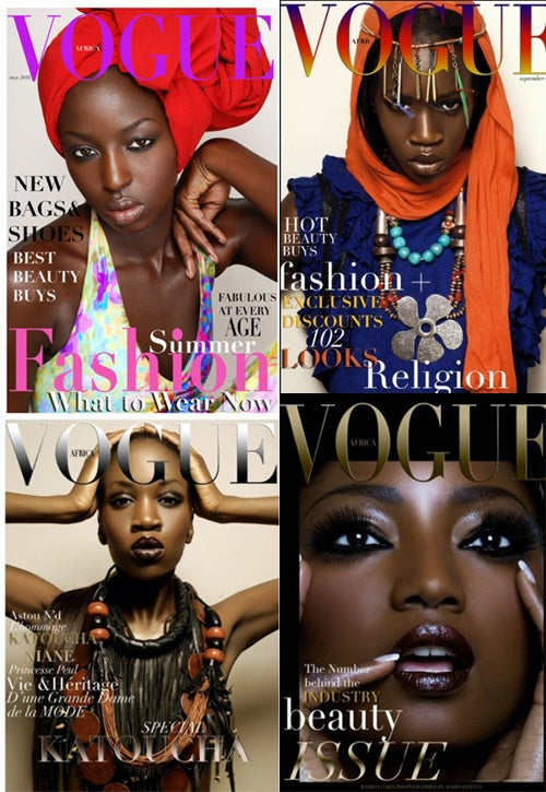 Fashion Enthusiasts Ponder Vogue Africa