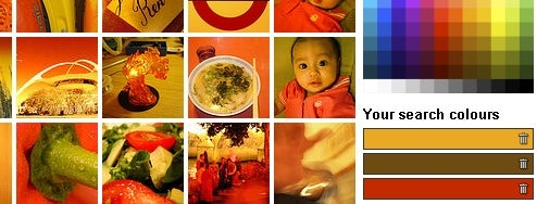 Multicolr Search Lab Sorts Flickr Pictures by Color