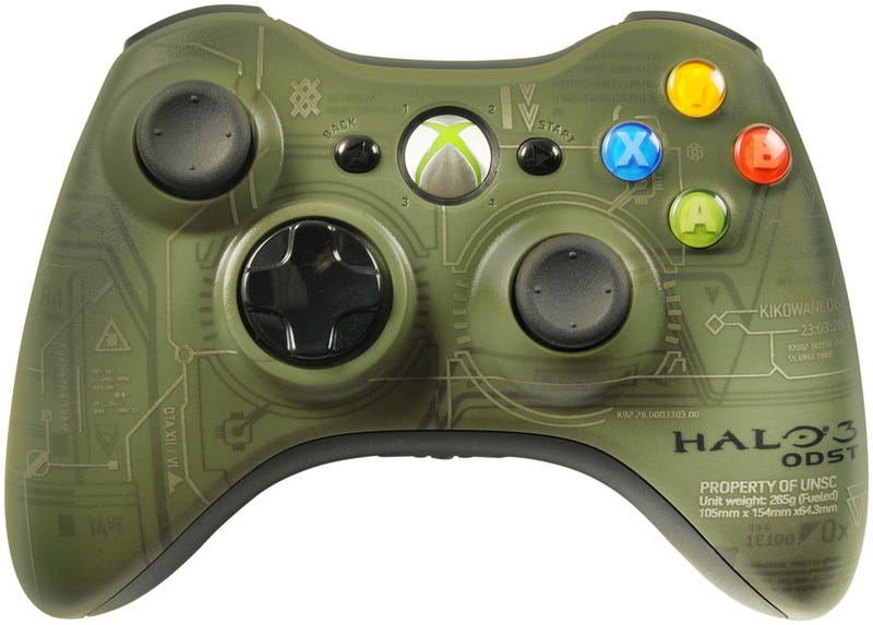First Look At Halo 3 ODST Xbox 360 Controller