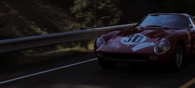 The Most Beautiful Film On The Piece Of Garbage Ferrari 250 GTO