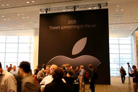 Apple Macworld 2008 Liveblog Archive