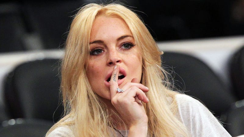 Everything Lindsay Lohan Ever Stole