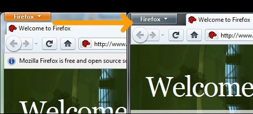 Change Firefox 4's Toolbar Button Color or Make It Transparent