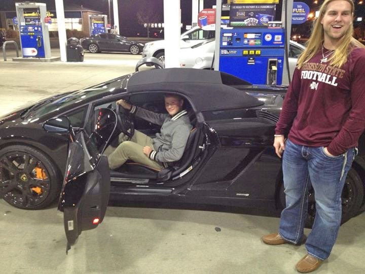 Lamborghini Driver Is Impersonating MSU FB Player? [UPDATE: Not Really]