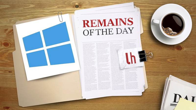 Remains of the Day: Windows Blue Announced and Leaked with New Features In Tow