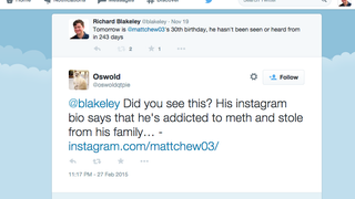 Former Gawker editor Matt Cherette's new social media update