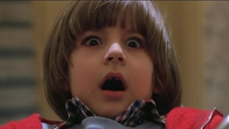 What movie terrified you the most when you were a kid?