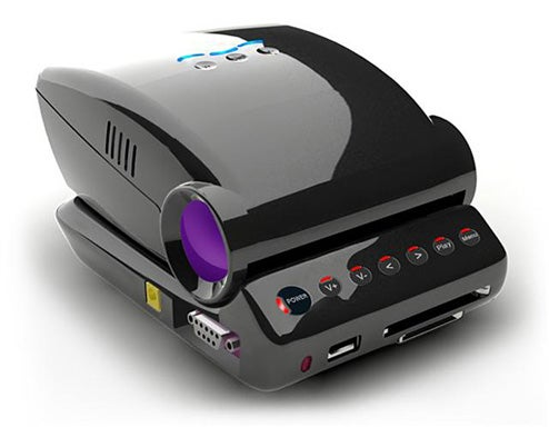 Honlai's MP100 Palm-Sized LED Projector For Puny PowerPoint Presentations
