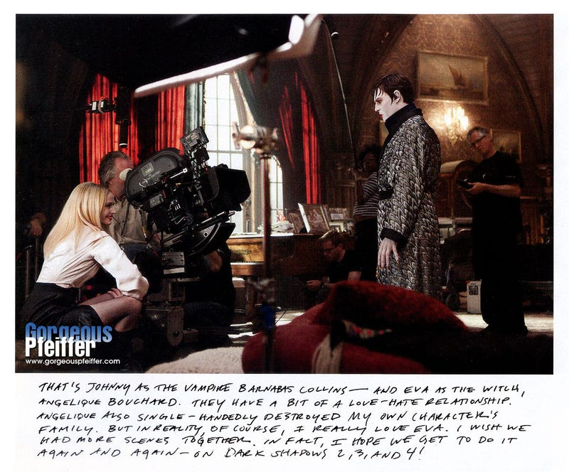 Dark Shadows Behind-the-Scenes From W Gallery