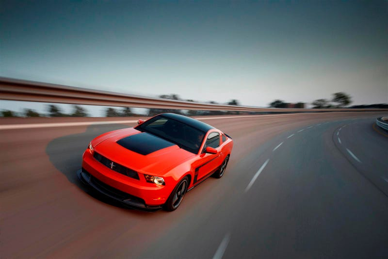Ford Mustang Boss 302 In Motion