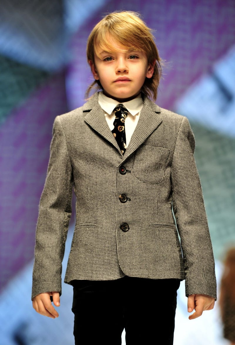 Child Fashion Show Imagines Rock N Roll Class War In The Arctic