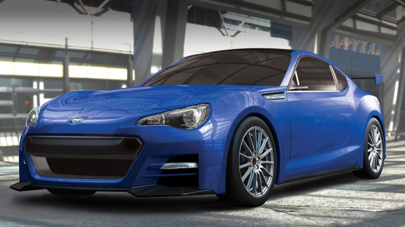 Subaru BRZ STI concept: More photos!
