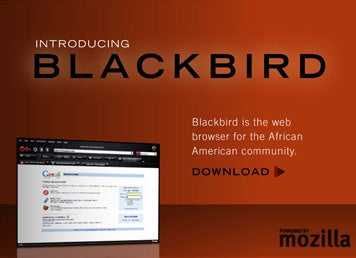 Blackbird Web Browser: Because Firefox is Too Navajo for Black Web Surfers