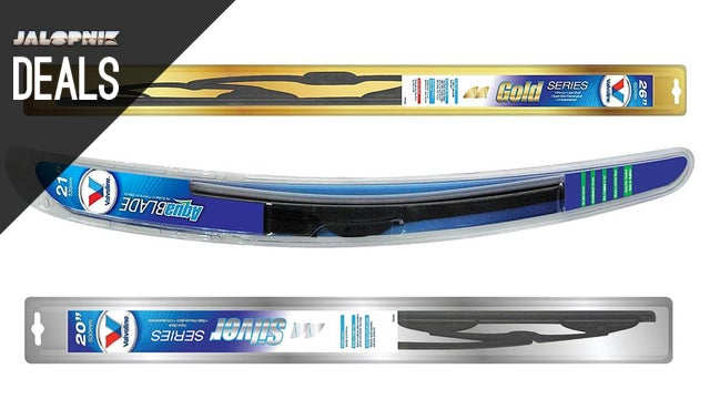 Deals: Half Price Wiper Blades, Seat Covers, Electric Screwdriver