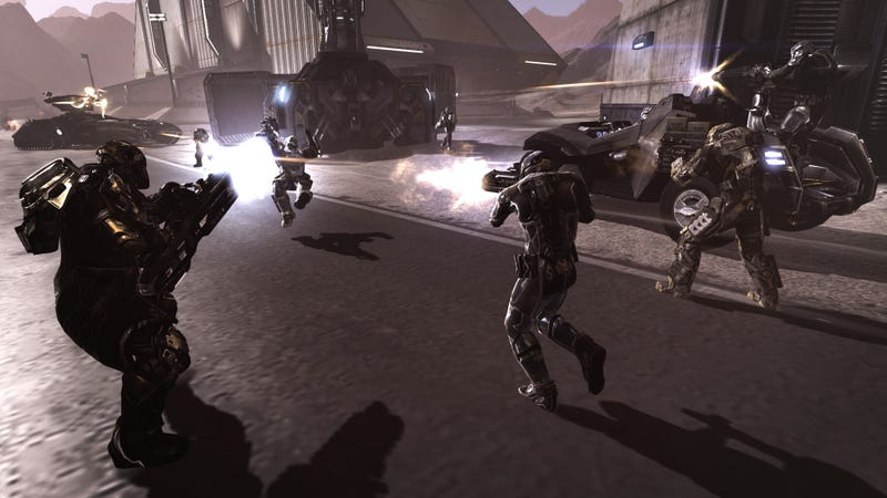 PlayStation Plus Members Can Now Shoot Things Dramatically In The Dust 514 Closed Beta