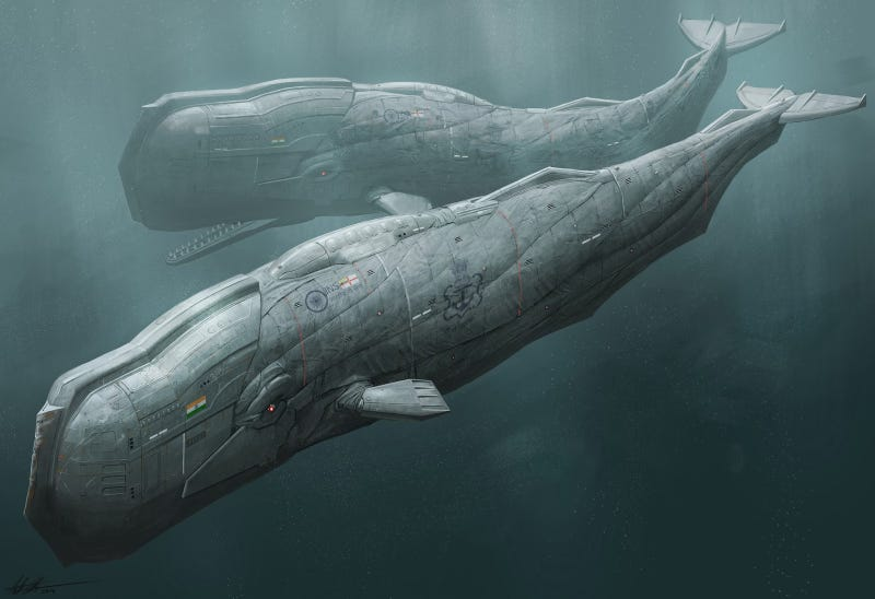 After the cyborg whale revolution, things were a little different