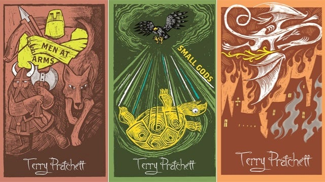 Check out the gorgeous collectors edition covers for Discworld