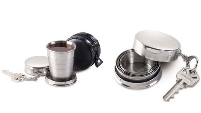 Collapsible Shot Glass For Drinkers On The Go