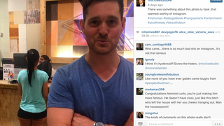 I Never Thought I'd Have to Teach Michael Bublé How to Use Instagram