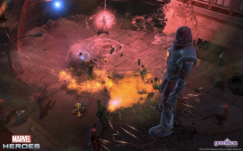 Like Diablo? Like Marvel Super Heroes? Then You'll Love This
