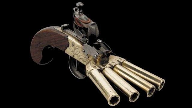 The Duck's Foot Pistol Put a Firing Squad in the Palm of Your Hand
