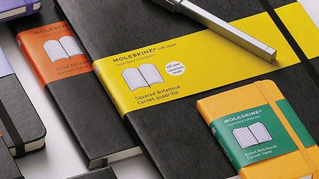 Most Popular Paper Notebook: Moleskine