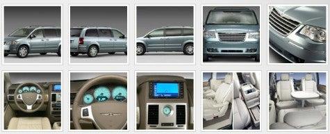 New for 2008! Chrysler Minivan!