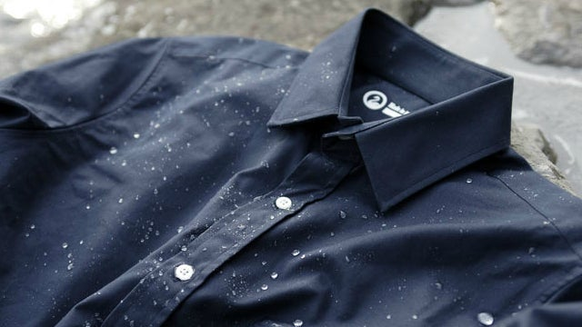 How the Supermarine Cotton Shirt Miraculously Keeps You Dry